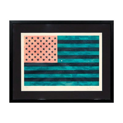 Jasper Johns, Flag (Moratorium), 1969