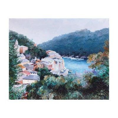 Josep Maria Vayreda Canadell, Porto Fino Seascape, 1986