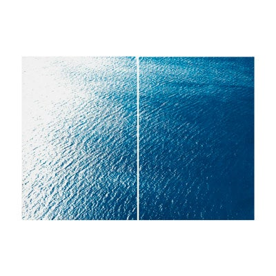 Kind of Cyan, Smooth Bay in the Mediterranean, 2021