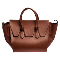 Celine Copper Leather Small Tie Tote