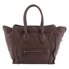 Celine Luggage Bag Grainy Leather Mini