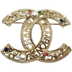 CHANEL CAMBON brooch
