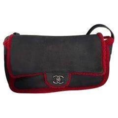 Chanel matelasse vintage sheepskin shoulder bag