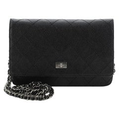 Chanel  Reissue Wallet on Chain Quilted Caviar
