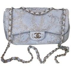 Chanel Rhinestone Denim Flap Bag
