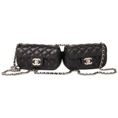 Chanel Side Pack Classic Flap 2.55 Reissue Rare Limited Edition Double Twin Bag