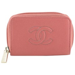 Chanel Timeless Zip Around Coin Purse Caviar