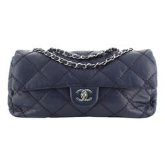 Chanel Ultimate Stitch Flap Bag Quilted Lambskin East West