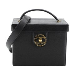 Chanel Vintage Vanity Case Caviar Small