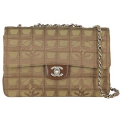 Chanel Women's Timeless Brown/Green Fabric