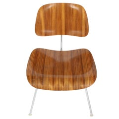 Charles Eames for Herman Miller Zebrawood DCM Chairs, Rare