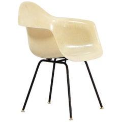 """Charles & Ray Eames """"Eggshell"""" Fiberglass Armchair for Herman Miller"""