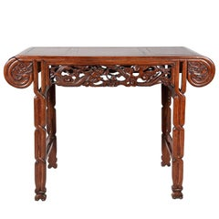 Chinese Hardwood Alter Table, 19th Century