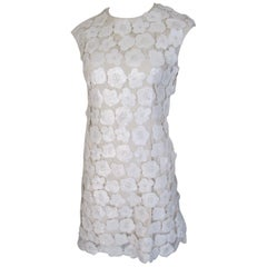 Chloe Sequin Flower Dress