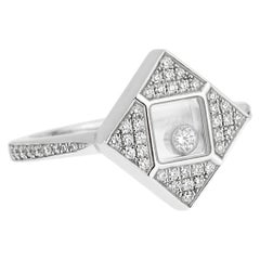 Chopard Happy Diamonds White Gold Ring 826869-1001