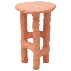 "Chris Wolston Terracotta Side Table ""Bahia"""