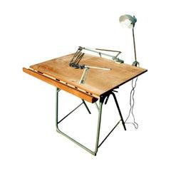 Christian Dell For Franz Kulmann KG Folding Drafting Table