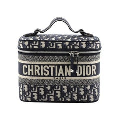 Christian Dior Vanity Bag Oblique Canvas