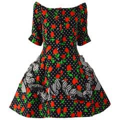 Christian Lacroix Luxe Vintage Evening Dress