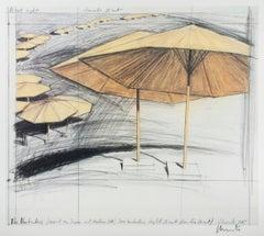 The Umbrellas (Horizontal)