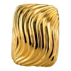 Chunky Gold Ring