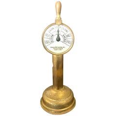 Cigar Cutter Brass Ship Engine Order Telegraph Tobacco Accessory