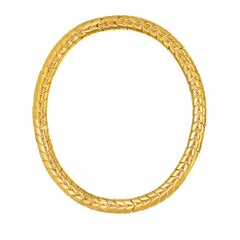 CINER Gold Chevron Necklace