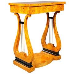 Classical Work Table in Vienna Biedermeier Style