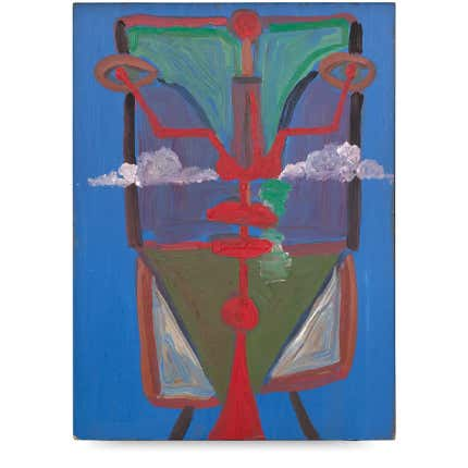 George Condo, <i>Abstract Face</i>, 1983