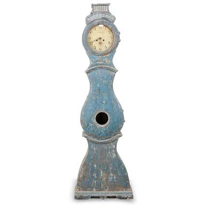 Swedish Grandfather Clock, 1820s