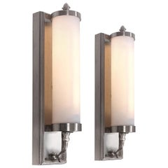 Collection of Large Midcentury Sconces