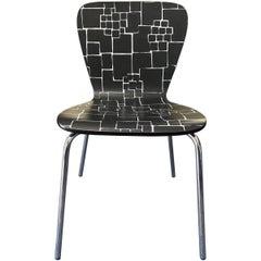 Contemporary Geometric Desk Chair