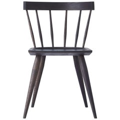 Contemporary White Oak Dining Chair by Coolican & Company