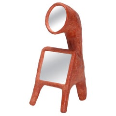 Cotta mirror 2 by Decio Studio Made at alfa.brussels for Everyday Gallery