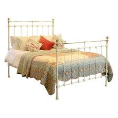 Cream Antique Bed MK189
