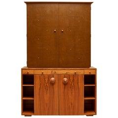 Custom Secretary Bookcase / Cabinet by Gilbert Rohde Paldo for Herman Miller