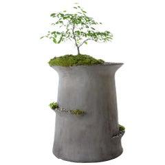 "OPIARY Concrete Echelon Planter (DIA 44"" H 48"")"