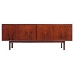 Danish Midcentury Sideboard in Rosewood Designed by Gunni Omann, 1960s