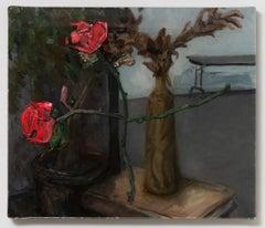 Studio Interior with Roses