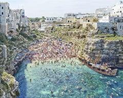 Polignano A Mare (mid-day), Bari, Apulia, Italy - Ocean - Seascapes