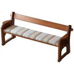 David Rosén, Rare Demountable Modernist Bench, Nordiska Kompaniet, Sweden, 1940s