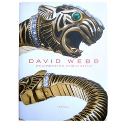 David Webb The Quintessential American Jeweler Book c 2013