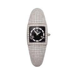 De Grisogono Piccolina 18K White Gold S14B Wristwatch