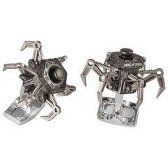 Deakin & Francis Moveable Drone Cufflinks