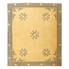 Decorative Antique Chinese Carpet. Size: 13 ft 10 in x 15 ft 11 in