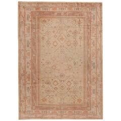 Decorative Antique Khotan Rug