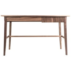 Desk, Writing Table, Office, Walnut, Modern, Hardwood, Semigood Design