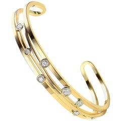 Diamond and Yellow Gold Van der Veken Varens Bracelet