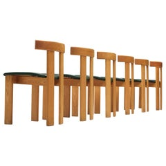 Dining Chairs in Oak