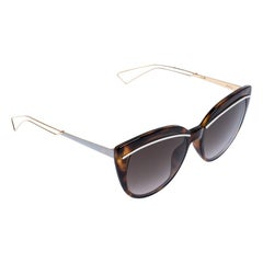 Dior Brown Ughma Cat Eye Sunglasses
